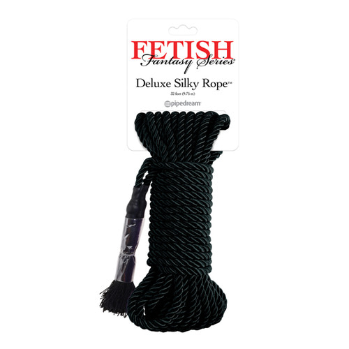 FETISH FANTASY SERIES JAPANESE SILK ROPE - BLACK