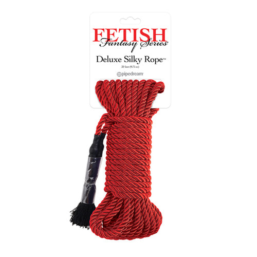 FETISH FANTASY SERIES JAPANESE SILK ROPE - RED